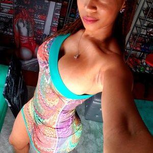 Dresses & Skirts - One shoulder mini dress sz S